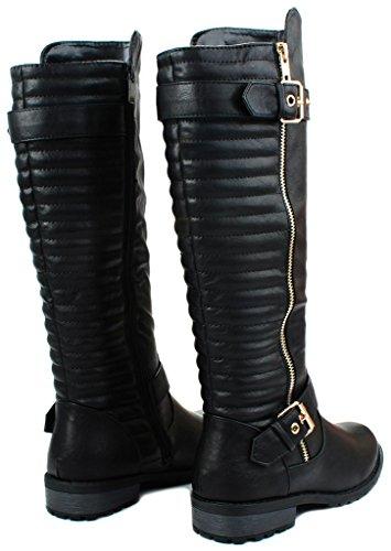 JJF Schuhe für immer Link Mango-21 Lady Boot Schwarz_20