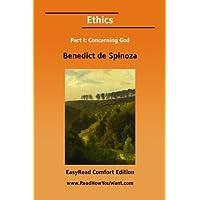 Ethics Part I: Concerning God[EasyRead Comfort Edition]
