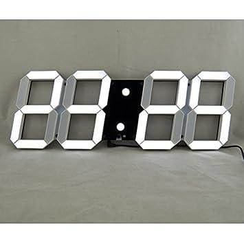 Bestland Große Led Uhr Digitale Wanduhr Amazonde Elektronik
