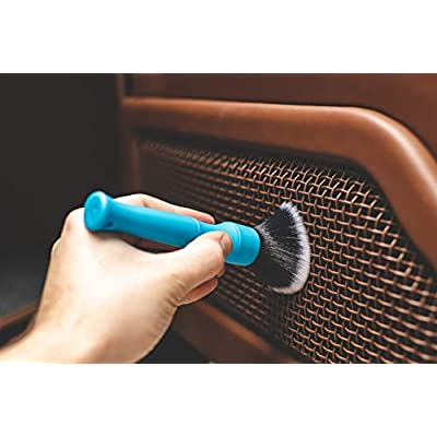 DETAIL FACTORY (2-Pack) Detailing Brush Set [The Rag Company Special Edition]: Automotive