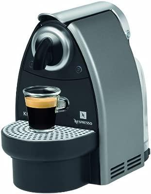 Nespresso Essenza Automatic Titan XN2125 Krups - Cafetera monodosis (19 bares, Automática y programable, Modo ahorro energía)