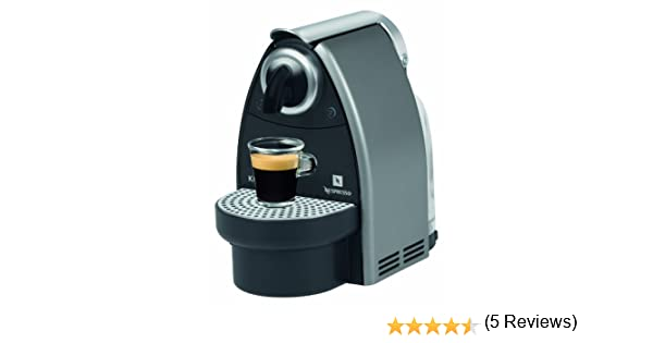 Nespresso Essenza Automatic Titan XN2125 Krups - Cafetera ...