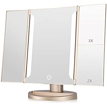 Amazon Com Easehold Lighted Makeup Mirror 2x 3x