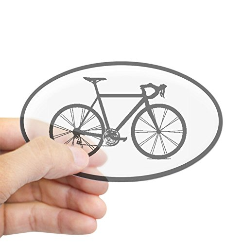 CafePress bicycling cycling sticker Sticker