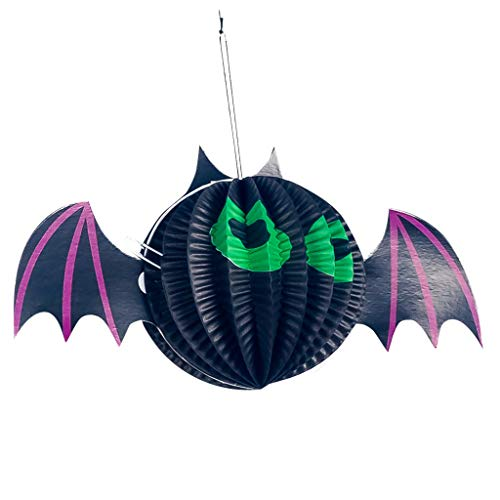 Halloween Wall Hanging Patterns (Mousmile Halloween Hanging Decoration Spider Pumpkin Indoor Outdoor Party Club Bar Paper Home Decor Accessories)