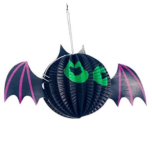 Halloween Yard Decorations Lights - Mousmile Halloween Hanging Decoration Spider Pumpkin