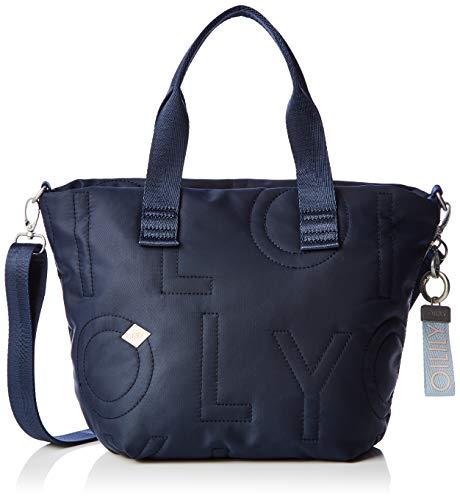 Oilily - Spell Handbag Mhz, porte-documents femme bleu (bleu (bleu foncé))