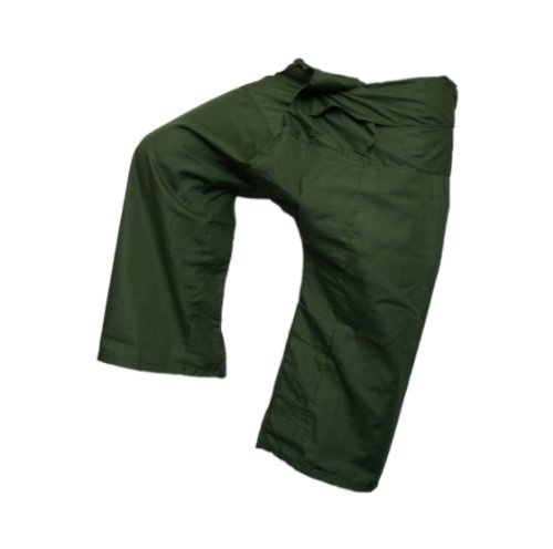 ThaiUKDamen Short, Einfarbig Grün Asparagus