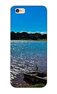 Freshmilk Fashion Protective Landscapes Earth Lakes Case Cover For Iphone 6 Plus