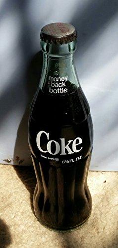 Vintage Coke Bottle - 6 1/2 FL. OZ. -- Bottled in Augusta, Georgia -- Still Full! - Full Coke Bottle