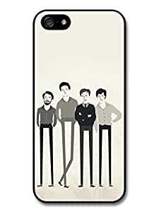 AMAF ? Accessories Joy Division Band Illustration case for iPhone 5 5S