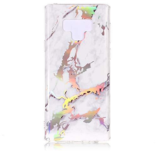 Halloween Hot Sale Phone Cover!!!Fenebort Fashion Cute Glossy Marble TPU Soft Rubber Case Cover Skin for Samsung Galaxy Note 9 -