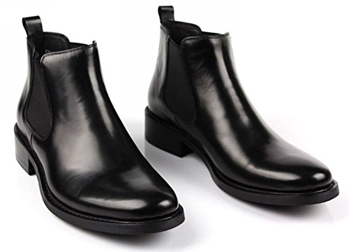 Wuf ,  Herren Chelsea Boots Schwarz