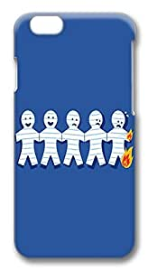 ACESR Custom iPhone 6 Cases, Paper Burn PC Hard Case Cover for Apple iPhone 6 (4.7 INCH) - 3D Design iPhone 6 Case