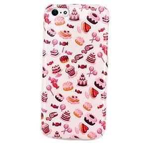 Caja del gel TPU Soft Cake caramelo para 5C iphone