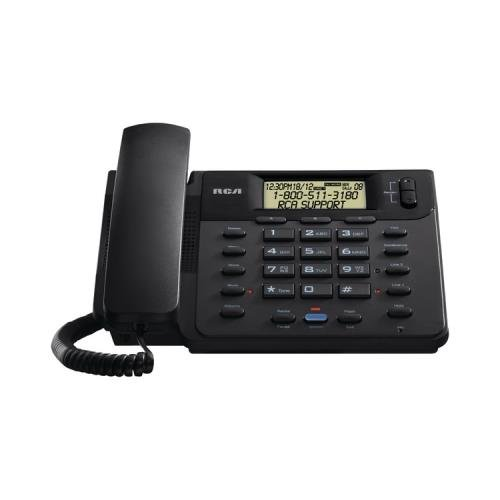 Portable, RCA ViSys 25201RE1 Corded 2-Line Speakerphone with CID (Black) Consumer Electronic Gadget Shop by WonderCase