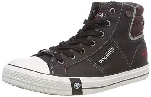 by Grau Hohe Sneaker Gerli 43pt302 220 Dunkelgrau Dockers Damen gn1pZdqq