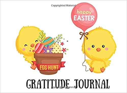 Happy Easter Egg Hunt Gratitude Journal: 30 Day Draw and ...
