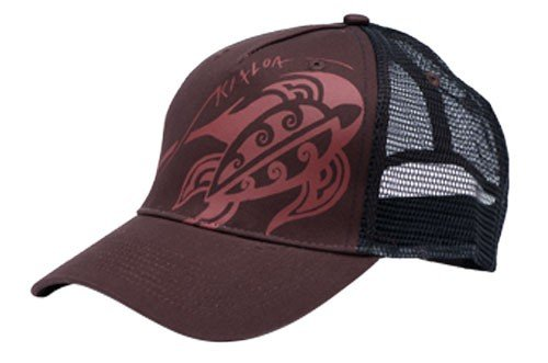 KIALOA Paddles Unisex Wisdom Trucker Hat (One Size) - Brown