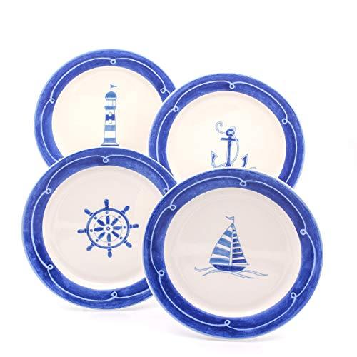 Euro Ceramica Ahoy Collection Nautical 8.7