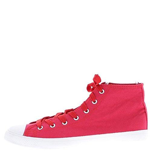 Taglia di scarpe da ginnastica Sneakers alti rosso
