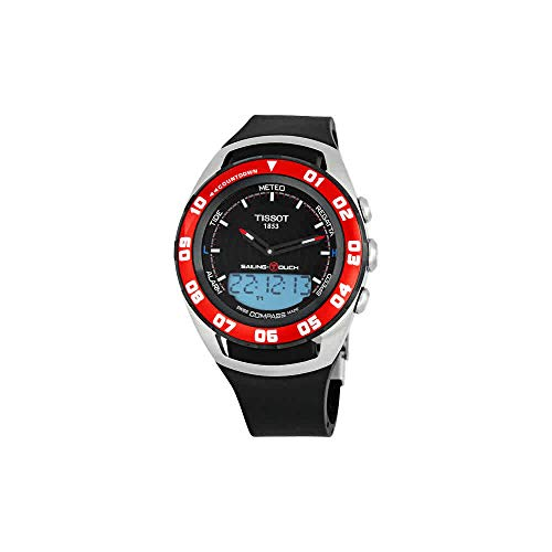 Tissot Sailing-Touch Mens Black Face Multi-Function Watch T056.420.27.051.00