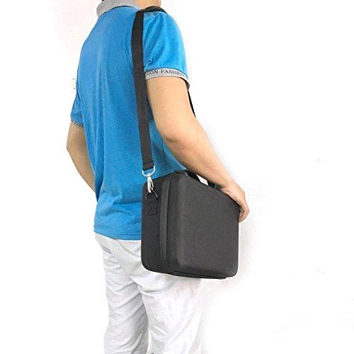 Alonea Hardshell Shoulder Waterproof box Suitcase bag for DJI Mavic Pro RC Quadcopter (Black) by Alonea