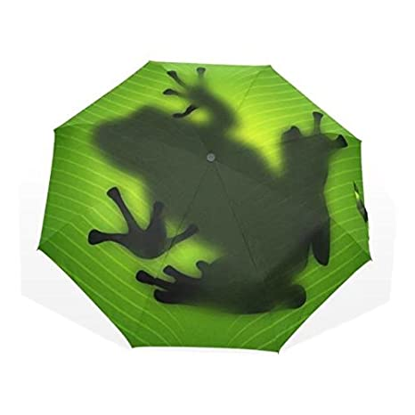 2017 New Creative Fantasy Frog Umbrella Adult UV Paraguas Sunscreen Parasol Parapluie Green Umbrella Rain Women