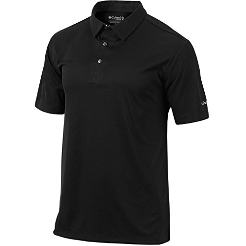 Columbia Golf Omni-Wick Snap Placket Polo | Black | LG