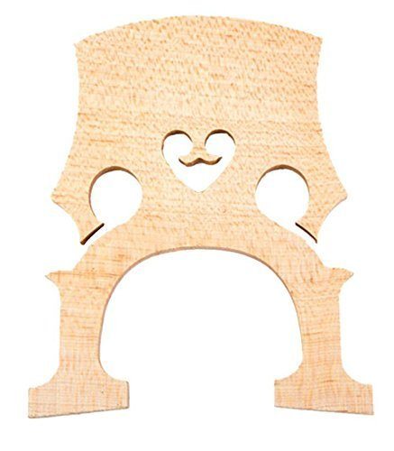Timiy 4/4 Durable Aged Maple Cello Bridge for Musical Instrument Accessory