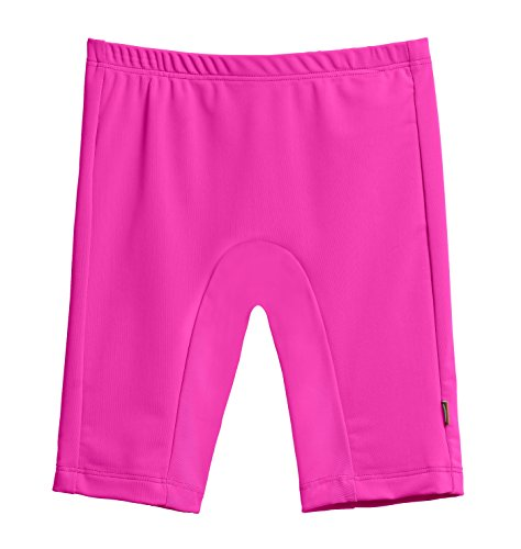 City Threads Baby Boys' and Girls' SPF50+ Swim Jammer Swimming Shorts Swim Bottoms Briefs With Sun Protection SPF For Beach Pool or Play, Hot Pink, 18/24m