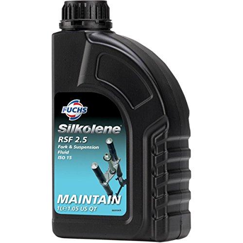 Silkolene 600967697 Pro RSF Fork Oil - 2.5wt. - (Silkolene Gear Oil)