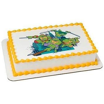 Teenage Mutant Ninja Turtles Cowabunga Edible Image® Cake ...