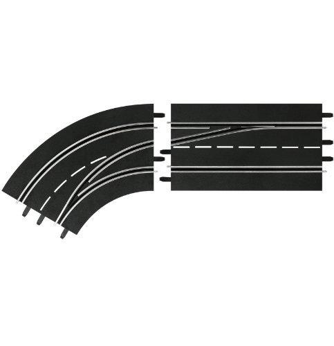 Carrera Digital 124/132 Lane Change Left Curve Out to In [並行輸入品] B078WW9F74