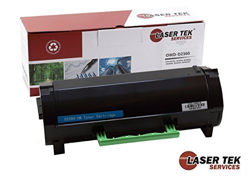 Laser Tek Services¨ Compatible Toner Cartridge Replacement for the Dell b2360, M11XH, C3NTP, 331-9805. (Black, 1-Pack)