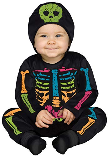 Fun World Lrg/Color Bns/Baby Bones Tdlr, Mulri,