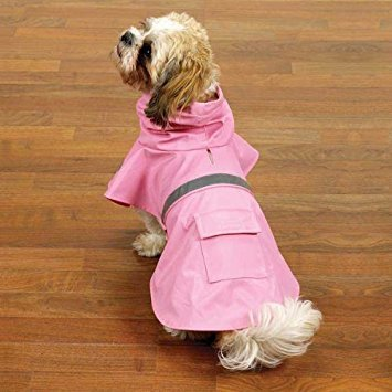 Guardian Gear Rain Jacket for Pets, Medium, Pink (Pink Guardian Gear)