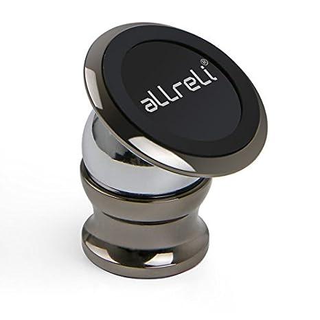 aLLreLi Support Voiture Téléphone Aimanté Universel pour iPhone 7, 7 Plus, 6, 6S, SE, 6 Plus, 6S Plus, Galaxy S7, Note 5 et d