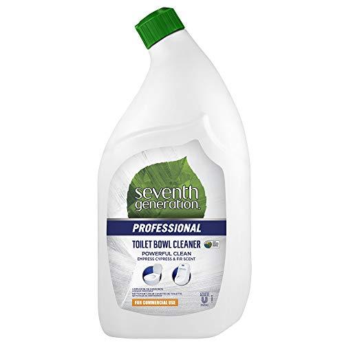 Seventh Generation Professional Toilet Bowl Cleaner, Empress Cypress & Fir Scent, Biodegradable, 32 fl oz (Pack of 8)