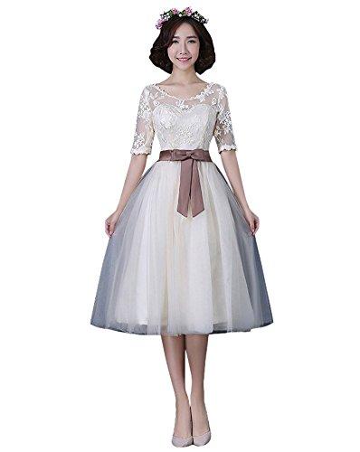 Champange A 1 Linie Damen Drasawee Kleid zPq6IOUw