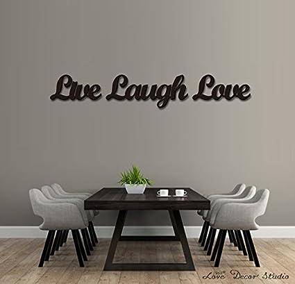 live laugh love decor Amazon.com: Love Decor Studio _ 1968 Wooden Letters Art 3D Cutout  live laugh love decor