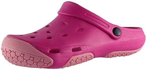 Coolers Mujer Exterior Eva Clogs Rosa
