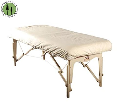 Massage Table Deluxe Flannel Fitted Sheet Table Cover DevLon