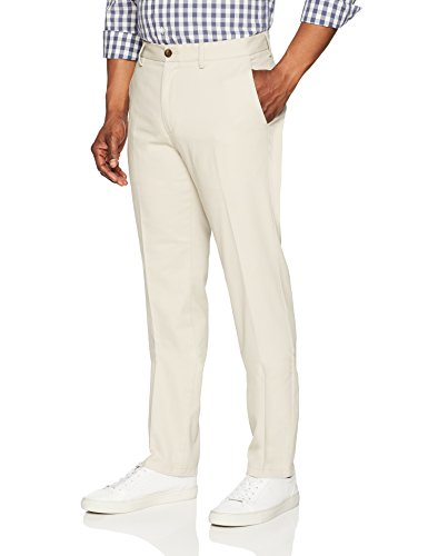 Image result for Amazon Essentials Slim-Fit Flat-Front Chino Pant