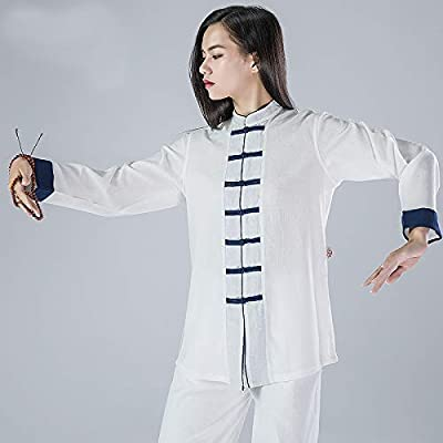JHDUID Traje de Kung Fu Chino Ropa de Tai Chi Algodón Uniforme de ...