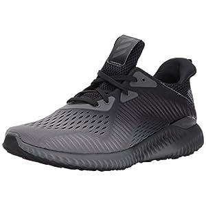 adidas Originals Men's Alphabounce Em m Running Shoe, Black/Grey Four/White, 11 Medium US