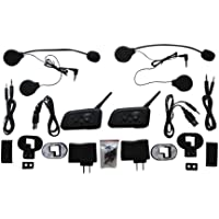 Shark SHKLXMBT688IL Motorcycle Snowmobile Bluetooth Multi Interphone Headsets 6 Riders Intercom Bluetooth - Set