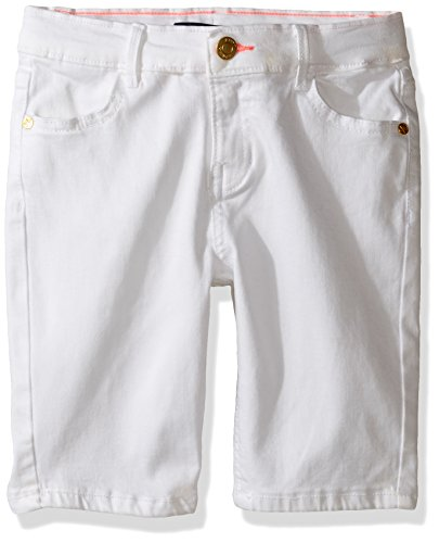 Tommy Hilfiger Toddler Girls' Classic Bermuda Short, White,