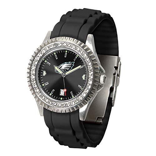 (Game Time NFL Philadelphia Eagles Womens SparkleWrist Watch, Team Color, One Size)