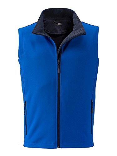 Promo Softshell Al navy E Gilet Nautic Libero Tempo Stampabile Promozionale blue Vest Men's Adatto fwqdzqB